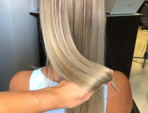 Baleyage to najbardziej popularna technika farbowania włosów